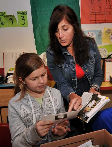 by: FILE PHOTO - Small class sizes at Three Rivers Charter School means students receive personal attention from their teachers.