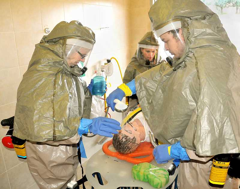 by: GARY ALLEN - Training - Scenarios that involved mass casualties, hazardous materials spills and others will be discussed Saturday at the Preparedness Fair.