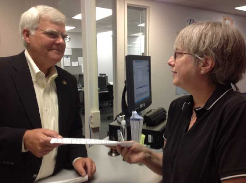 by: SUBMITTED - Rep. Kevin Cameron filed the paperwork for Marion County Commissioner Sept. 12.