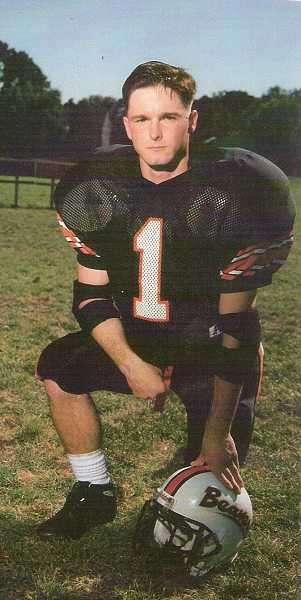 by: SUBMITTED PHOTO - Sgt. Damien T. Ficek, a 1996 Beaverton High School graduate, served as co-captain for both the football and wrestling teams during his time at BHS.