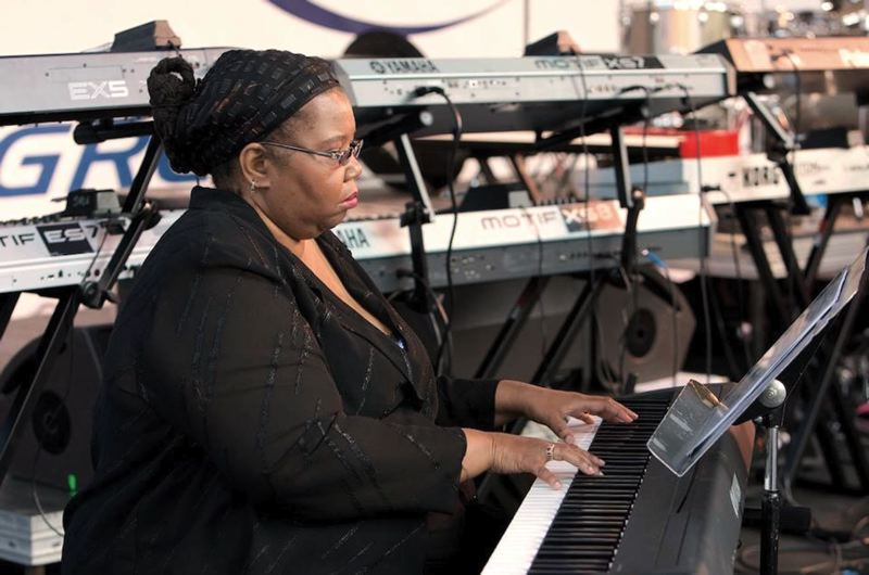 by: COURTESY OF JANICE SCROGGINS - Both Oregon Music Hall of Fame inductees, Janice Scroggins and her piano have played alongside other Portland greats, while band Hazel made an impact on the alternative rock scene.