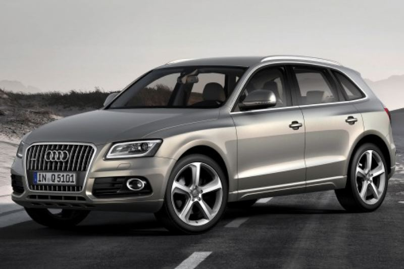 by: AUDI PRESS AG - The 2013 Audi Q5 is availlable with a poweful but economical turbo-diesel engine for the first time.