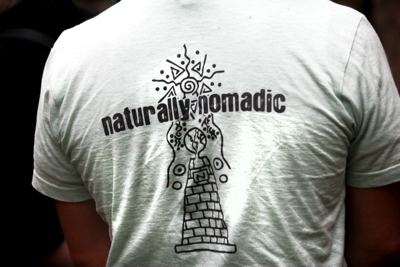 by: OUTLOOK PHOTO: JIM CLARK - 'Naturally nomadic' is one of Carpe Mundi's (and the broader Carpe Diem Education's) signature sayings. The Bala cohort sports the phrase on the back of their T-shirts.