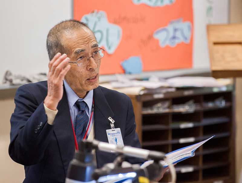 by: SPOKESMAN PHOTO: JOSH KULLA - Horie Soh vividly remembers the day in 1945 that an atomic bomb fell on his town of Hiroshima.