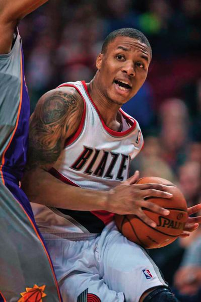 by: TRIBUNE FILE PHOTO: CHRISTOPHER ONSTOTT - The Trail Blazers want 2012-13 NBA Rookie of the Year Damian Lillard to step up his defense, shooting percentage and assists/turnover ratio this season.