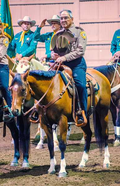 by: RAY HUGHEY - Oregon Association of Mounted Posses annual 'Shodeo.'