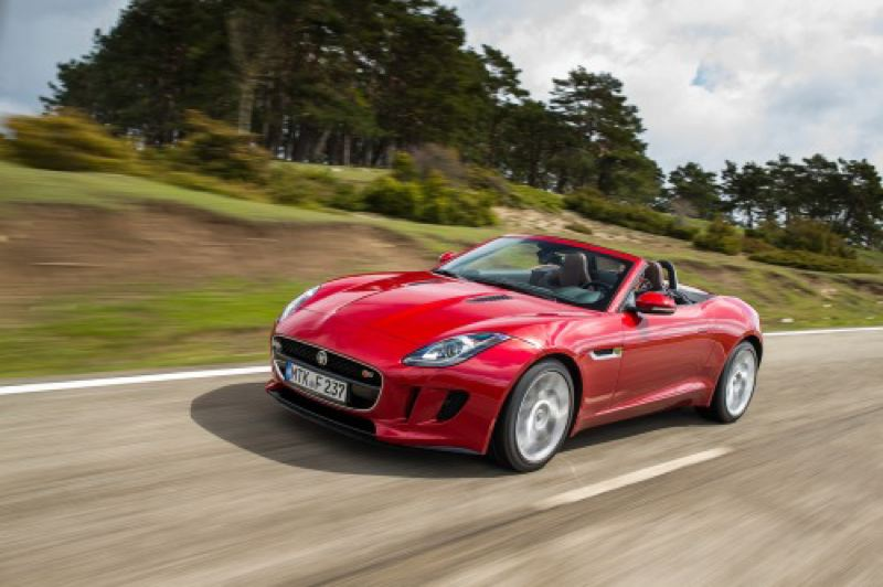 by: JAGUAR - Styling is one of the 2014 Jaguar F-Type's strongest assets.