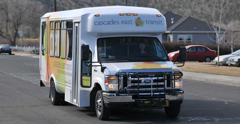 by: CENTRAL OREGON FILE PHOTO - Central Oregon Intergovernmental Council is trying to develop more sustainable funding for the Cascade East Transit bus system, which serves several Central Oregon communities.