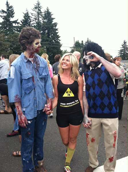 by: SUBMITTED  - Decide whether you are a zombie or a survivor and run for your life at the Zombie Apocalypse Run.