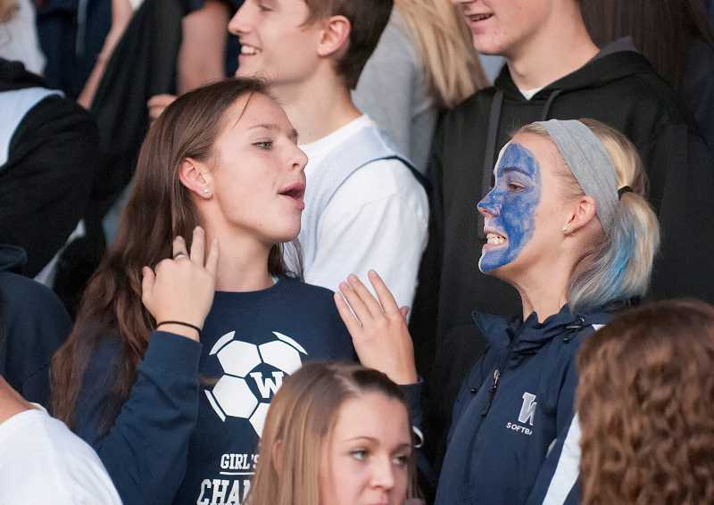 by: SPOKESMAN PHOTO: JOSH KULLA - The game provided plenty of opportunities for grins and grimaces.