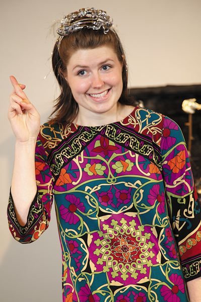 by: COURTESY OF WELL ARTS - Actress Sarah DeGrave performed in the Well Arts 2012 Reunion Writing workshop 'I:you.'