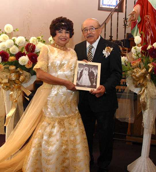 by: SUBMITTED - Valentin and Saida Veliz celebrated their 50th anniversary last month by renewing their vows.