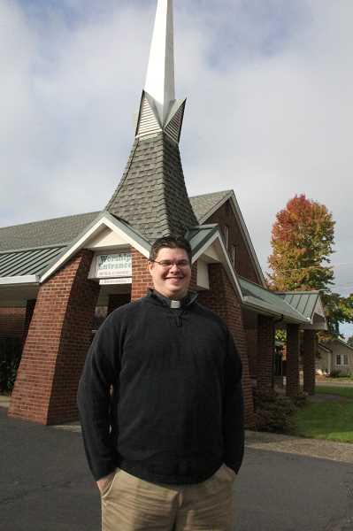 by: LINDSAY KEEFER - Dave Miller started as pastor of Woodburn Immanuel Lutheran Church on Sept. 15.