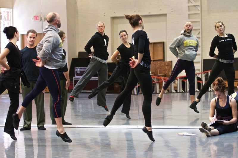 by: TRIBUNE PHOTO: JAIME VALDEZ - Fundraising experts are divided on how Phil Knight's grant challenge will affect other nonprofits such as the BodyVox dancers, who are dependent on local philanthropy to remain solvent.