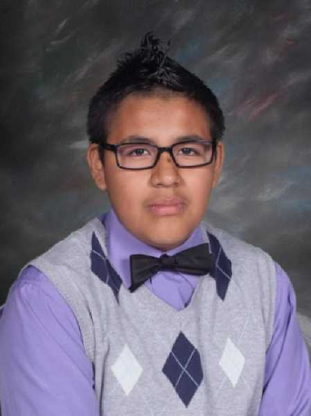 by: SUBMITTED - Diego Rodriguez, who was killed when he was struck by an Amtrak train Tuesday, is shown here in a school photo from last year.