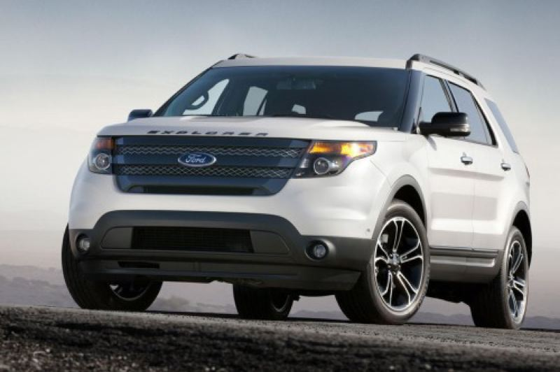 by: FORD MOTOR COMPANY - Strong styling helps set the 2013 Ford Explorer Sport apart from the competition.
