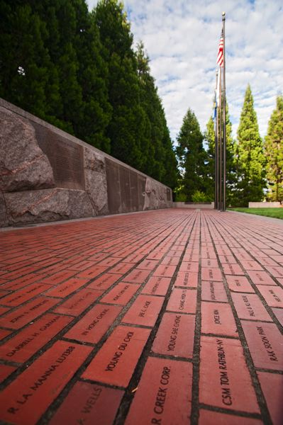 by: SPOKESMAN PHOTO: JOSH KULLA - Underappreciate city attractions like its Korean War Memorial, above, are one way to attract visitors to Wilsonville, according to input gathered a recent tourism development public workshop.