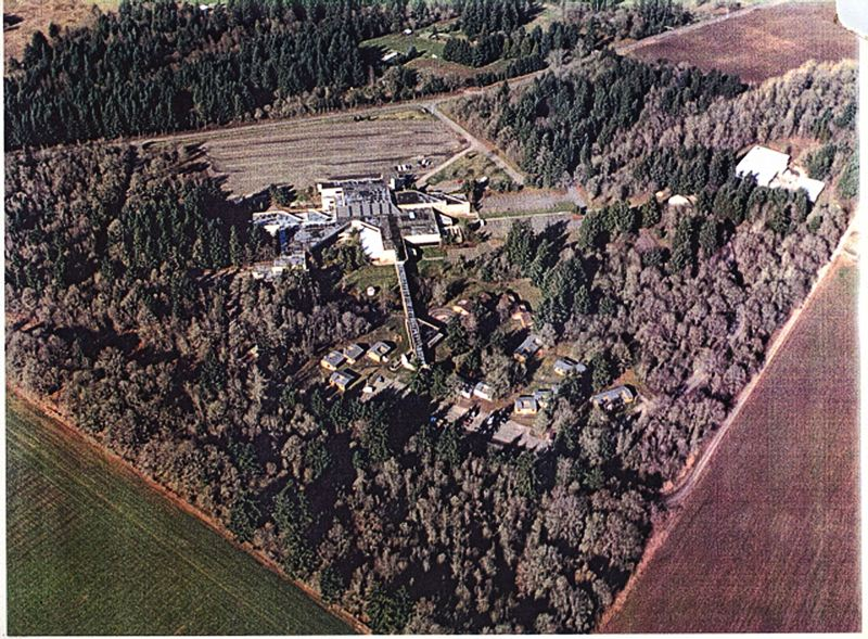 by: WIKIPEDIA CREATIVE COMMONS - Here is an aerial view of the Living Enrichment Center during its heyday in the late 1990s.