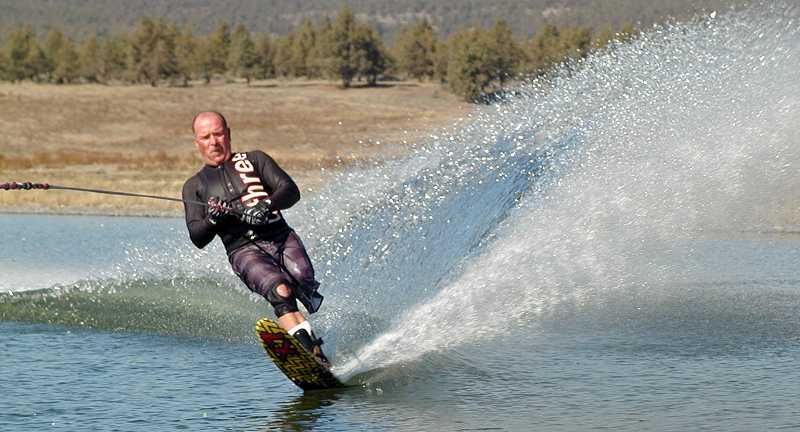 by: RON HALVORSON - Jeff Hancock is a competitive slalom water skier and has competed in four tournaments this year. At Nationals in Sacramento, Calif., this year, he broke his own world's record in his event, and qualified for the World Championships.