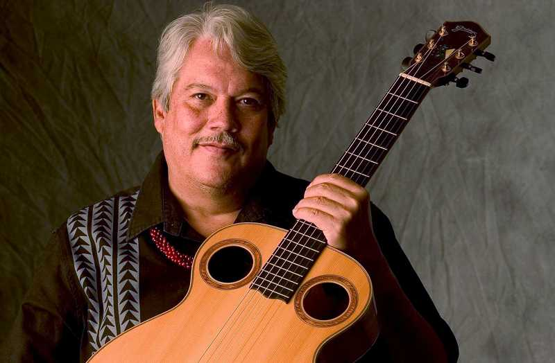 by: COURTESY PHOTO - Guitarist Keola Beamer, known as the master of the slack key guitar, will perform in Forest Grove Saturday, Oct. 26.