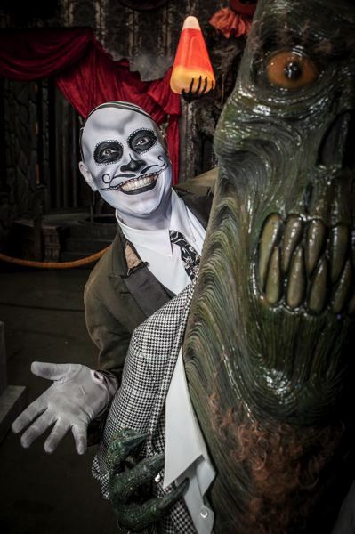 by: COURTESY OF FRIGHTTOWN - The array of creatures and scares at FrightTown have always drawn big crowds at Halloween time. The Memorial Coliseum haunted houses are some of the attractions around the city for the fans of Halloween.