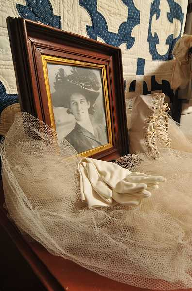 by: VERN UYETAKE - The legacy of Lucy Pollard is beautifully displayed this Halloween season at the Oswego Heritage House.
