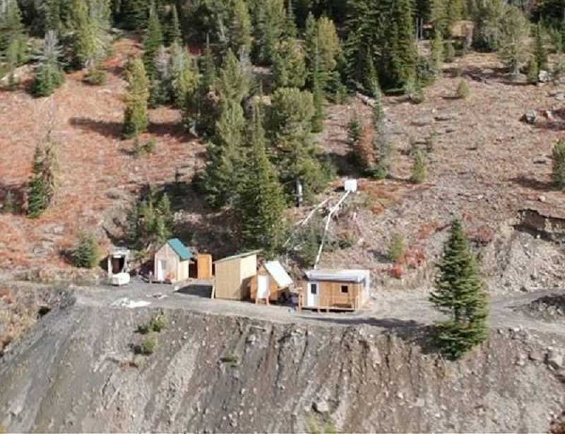 by: TIMES PHOTO: JONATHAN HOUSE - The base of operations at the Crescent Gold Mine in Sumpter figures prominently in 'Ghost Mine,' the Syfy channel relaity program focused on the gold mine owned and run by Bethany residents Stacie and Larry Overman.
