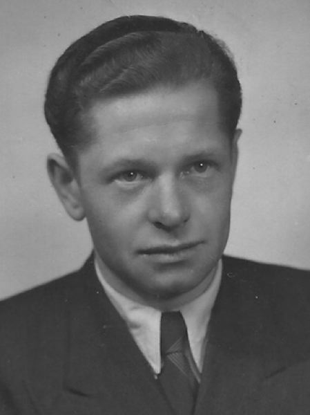 by: CONTRIBUTED PHOTO - This photograph of Nick Alexander was taken before he and his wife immigrated in October 1953 to the United States.