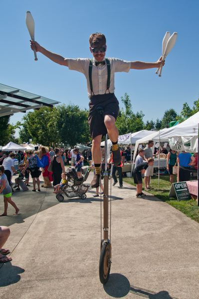 by: SPOKESMAN PHOTO: JOSH KULLA - Fun In The Park and other events bring thousands of people to Wilsonville for day trips. Now the city is trying to attract tourists in a variety of new ways.