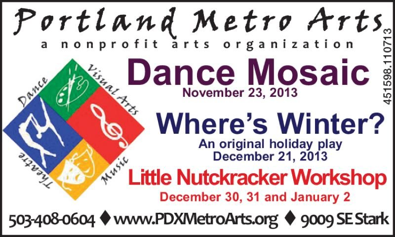 (Image is Clickable Link) PDX Metro Arts