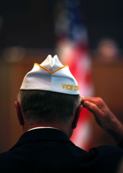 (Image is Clickable Link) by: PAMPLIN MEDIA GROUP FILE PHOTO - Cities around the region will host several Veterans Day events and ceremonies on Monday, Nov. 11.