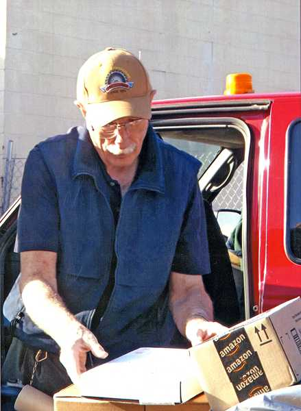 by: COURTESY PHOTO - Gene Nosack spent 50 years delivering mail in the Gales Creek area. He retired Nov. 1.