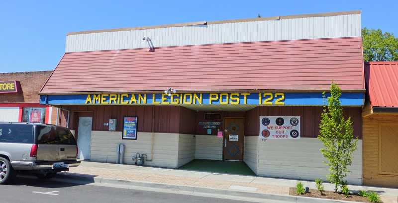 by: SUBMITTED PHOTO - American Legion Post 122 before renovation project.
