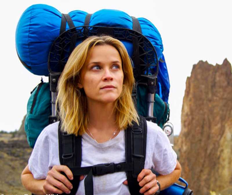 by: PHOTO COPYRIGHT 2013: REESE WITHERSPOON - Reese Witherspoon plays Cheryl Strayed in the film 'Wild,' based on Strayed's popular memoir.