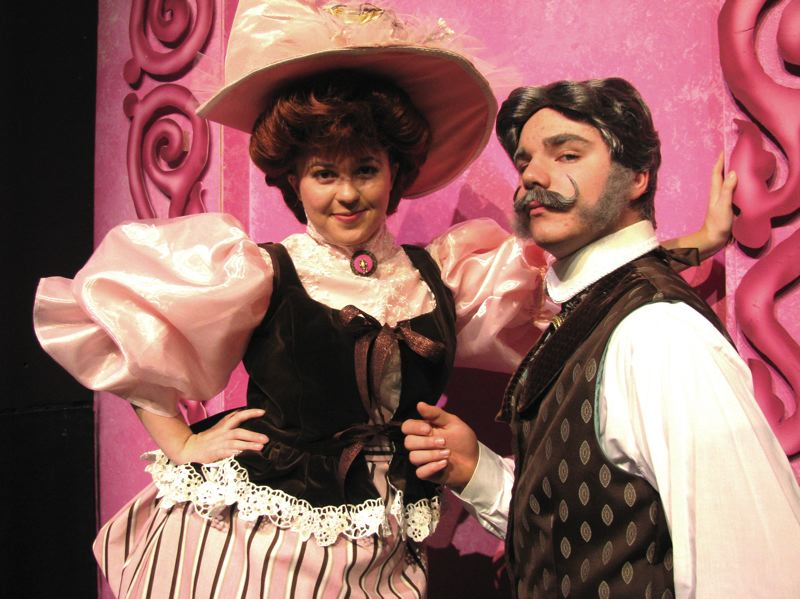 by: OUTLOOK PHOTO: LISA K. ANDERSON - Gresham High seniors Arianne Melton and Devin Bailey star in 'Hello, Dolly!'