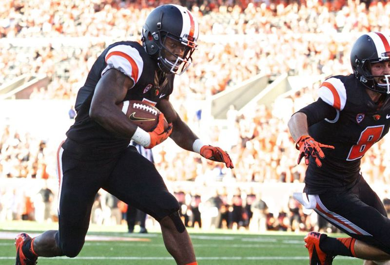 by: TRIBUNE FILE PHOTO: JAIME VALDEZ - Brandin Cooks (left) and the Oregon State Beavers will play host to Washington on Saturday.