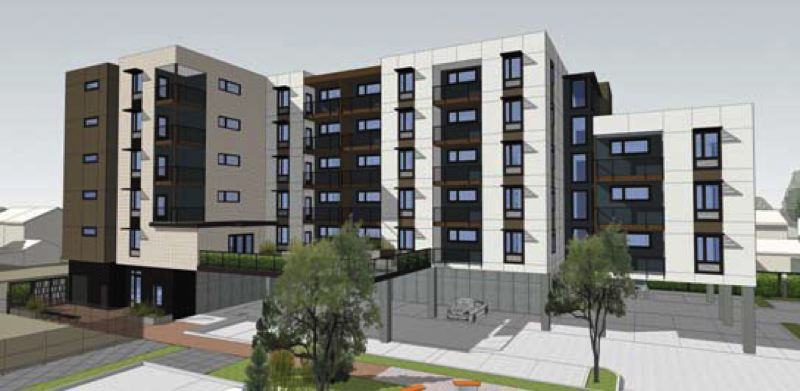 by: COURTESY CARLETON HART ARCHITECTS - REACH will begin construction of the second phase of Glisan Commons in March.