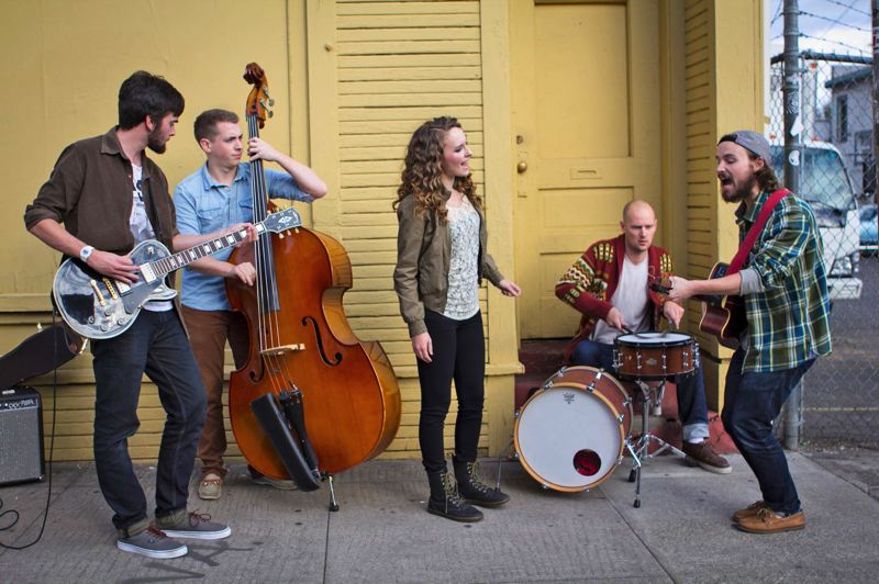 by: COURTESY OF PORTLAND SOUNDCHECK - Musical talent - and now young love - brought Samsel and the Skirt together, and the group will perform at the Portland Soundcheck event, Nov. 23 at the Aladdin Theater.