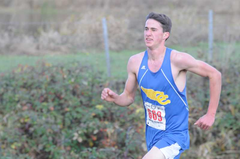 by: LON AUSTIN - Nathan Carmack was the highest finishing Crook County runner at the state meet. Carmack, a junior is expected to lead next year's team.