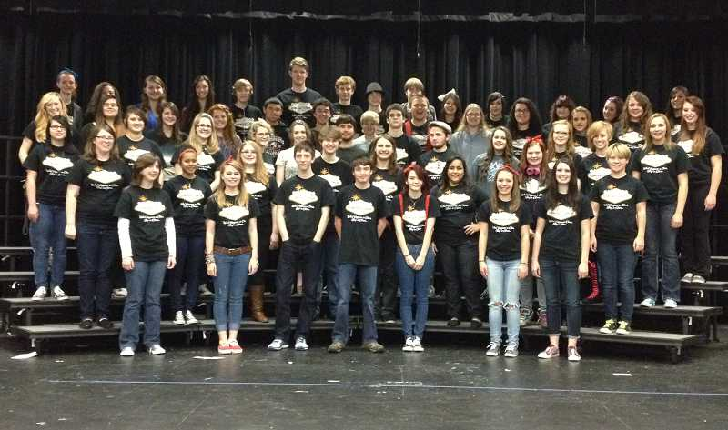 by: SUBMITTED PHOTO -  A total of 56 Sherwood High School Concert Choir students will participate in the Nov. 30 perfromance of the Portland Singing Christmas Tree.