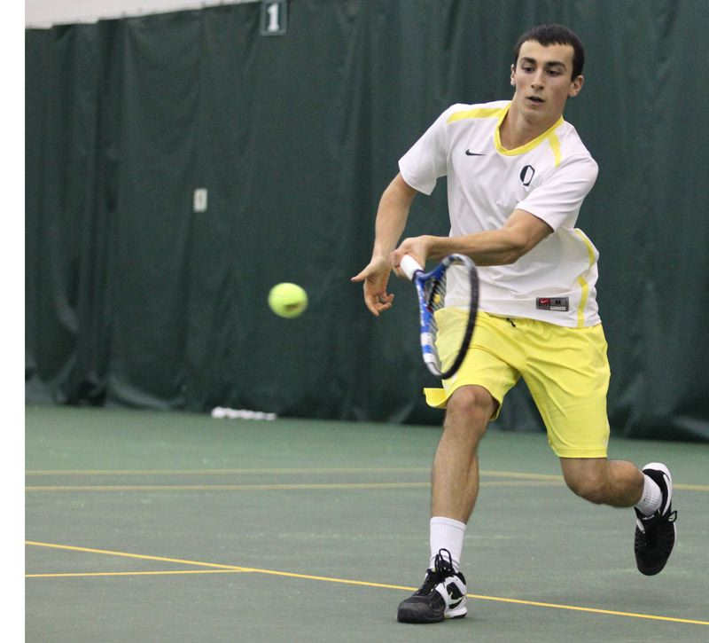 by: COURTESY OF UNIVERSITY OF OREGON - Fundraising continues for the Alex Rovello Memorial Project, which will renovate the tennis courts at Berkeley Park in Southeast Portland.