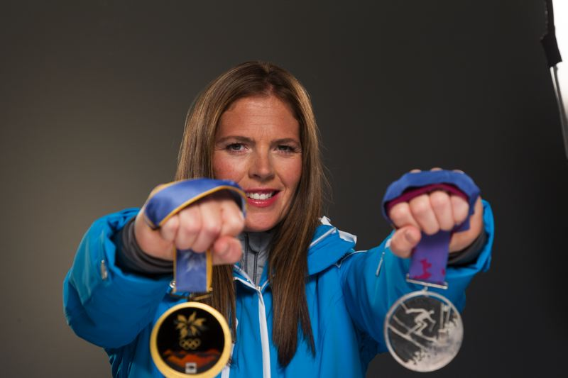 Picabo Street still has an edge even though she has a family and a couple of Olympic medals.
