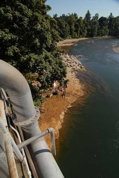 by: LAKE OSWEGO REVIEW - Construction is now underway on Lake Oswegos water intake facility on the Clackamas River in Gladstone, shown here in a 2010 file photo. Over the next couple of years, the old facility will be replaced with a new one capable of serving both Lake Oswego and Tigard.