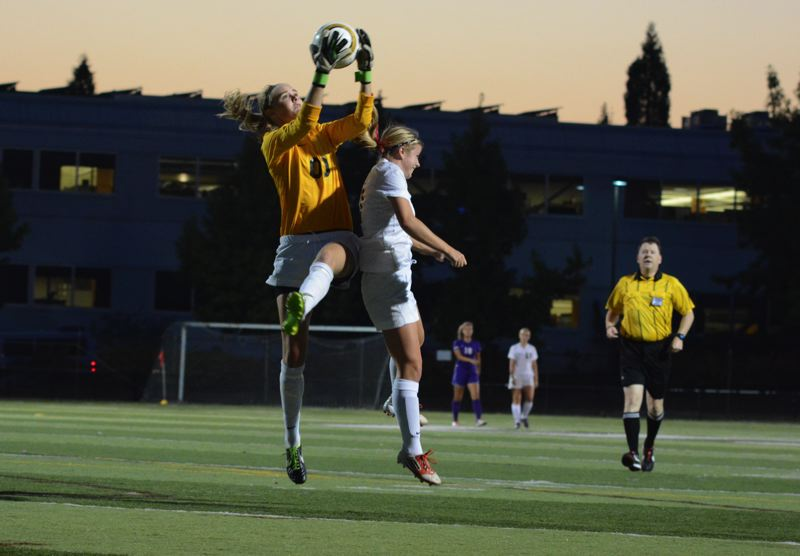 by: TIMES FILE PHOTO - Sunset goalie Taylor Luty was named first-team All-Metro League.