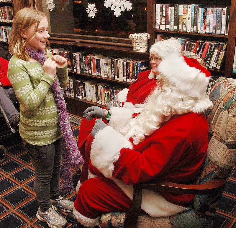 by: GARY ALLEN - A favorite with the kids - Kids will have ample opportunity to approach Santa with their Christmas wishes during the annual tree-lighting ceremony Dec. 6.