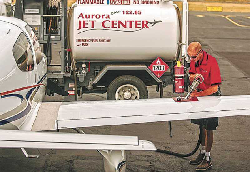 by: JOSH KULLA - Jets at the Aurora State Airport are a double-edged sword for local residents, some of whom use them to commute in and out of town. New traffic patterns now will bring jets into the airport from the east instead of the north.