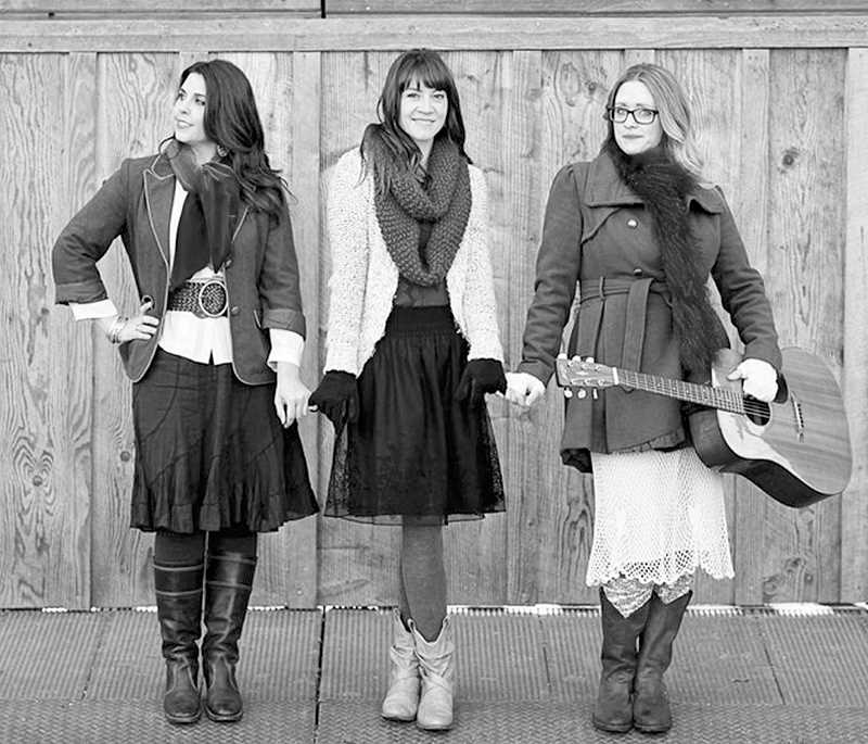 by: SUBMITTED PHOTO - Wilsonville singer-songwriters Christina Cooper, Naomi LaViolette and Michele Van Kleef will perform a series of Christmas concerts in Wilsonville and Portland to benefit the Oregon Food Bank.