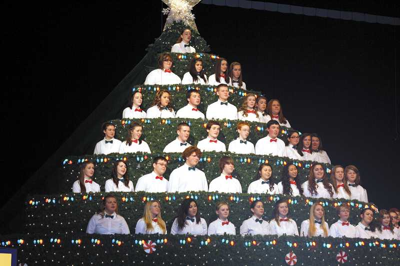 by: PEGGY SAVAGE - 2012 Singing Christmas Tree