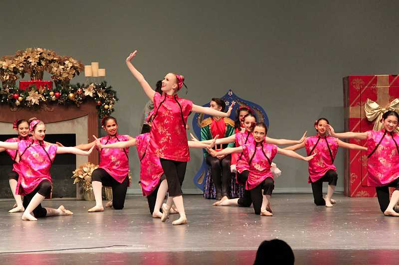 by: SUBMITTED PHOTO - Audrey Wells of Lakeridge High has performed in major roles at previous Nutcracker and Holiday Showcases that Westside Dance & Gymnastics Academy in Tigard has produced.