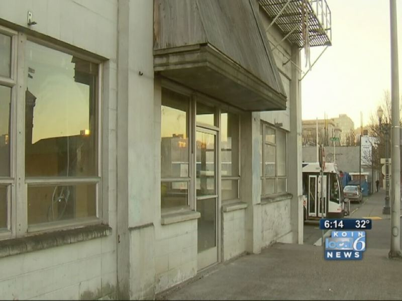 by: KOIN NEWS 6 - Mayor Charlie Hales is proposing this warehouse as the new location of the R2D2 homeless camp.